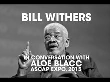 Load and play video in Gallery viewer, Bill Withers sits down in conversation with Aloe Blacc for a rare public appearance