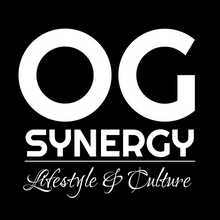 "Load image into Gallery viewer, ""OG Synergy"" Black T-Shirt"