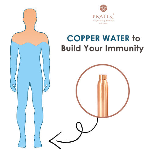 Copper Water to Build Your Immunity