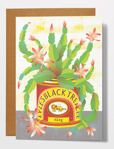 Printer Johnson Black Treacle Card