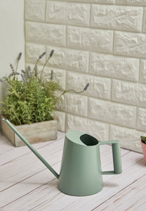 Metal Watering Can - Green