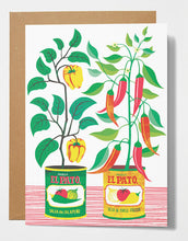 Load image into Gallery viewer, Printer Johnson Chilli Peppers Card