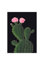 Load image into Gallery viewer, Stengun Drawings Cactus on Black Card