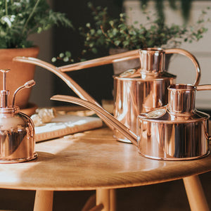 Haws Fazeley Flow Copper Watering Can - Two Pint