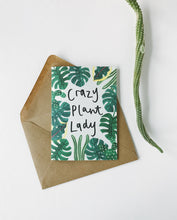 Load image into Gallery viewer, Katrina Sophia Crazy Plant Lady Card