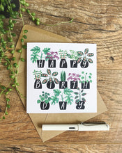 Load image into Gallery viewer, Katrina Sophia Potted Plants Happy Birthday Card