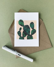 Load image into Gallery viewer, Katrina Sophia Prickly Pear Cactus Card
