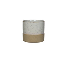 Load image into Gallery viewer, Two Tone Plant Pot - White XS