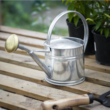 Load image into Gallery viewer, Galvanised Steel Watering Can 1.5L