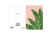 Load image into Gallery viewer, Stengun Drawings Banana Plant Card