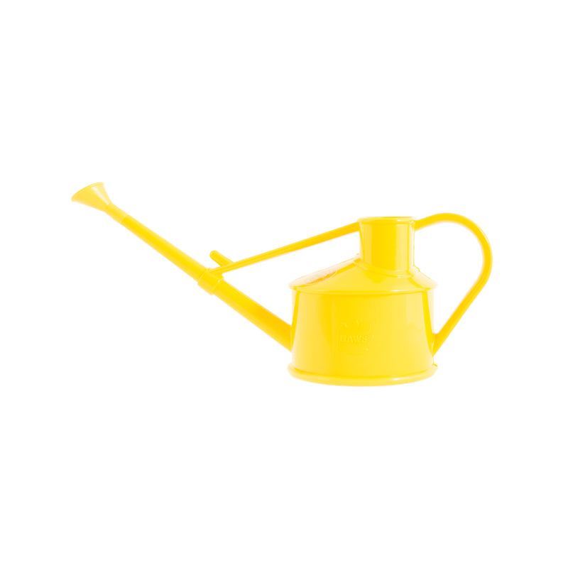 Haws Langley Sprinkler Watering Can - Yellow