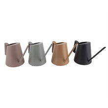 Load image into Gallery viewer, Metal Watering Can - Black