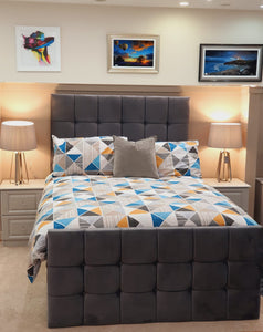 BROOK FABRIC BED FRAME