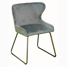 Load image into Gallery viewer, KARLA VELVET DINING CHAIR