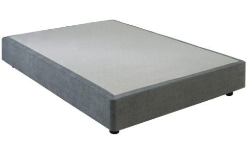 5FT DIVAN BASE - GREY/MINK
