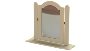 ANNAGH IVORY SINGLE ORNATE MIRROR