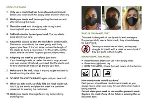 Face masks : Support a family