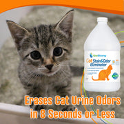 Cat Stain & Odor Eliminator - 1 Gallon Jug