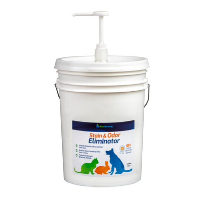 Stain & Odor Eliminator - 5 Gallon Pail with Pump