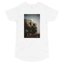 Load image into Gallery viewer, BAD CLVB / BURN BABY BURN - LONG BODY URBAN TEE
