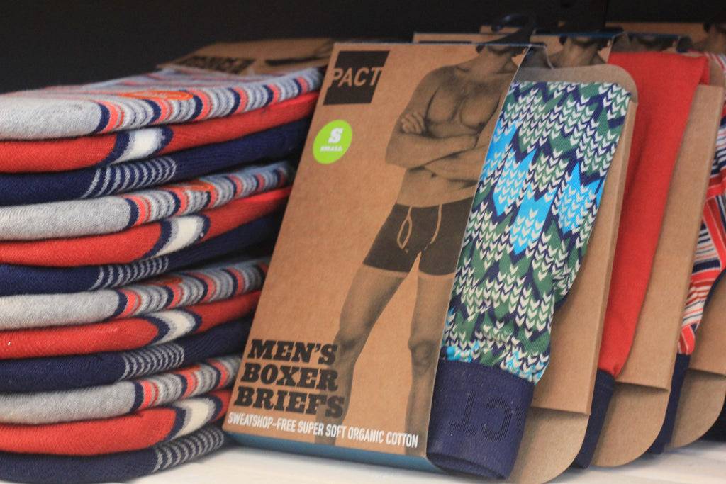 James Dant Pact Briefs Boxers Socks Irvington Men's Store Father's Day Gift