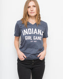 Indiana Girl Gang Unisex V-Neck