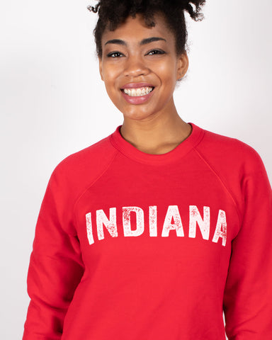 Vintage Indiana Crewneck Sweatshirt ***CLEARANCE*** - United State of Indiana: Indiana-Made T-Shirts and Gifts