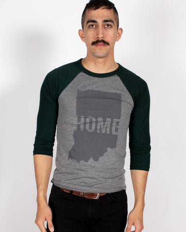 This is Home Baseball Tee - United State of Indiana: Indiana-Made T-Shirts and Gifts