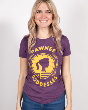 Pawnee Goddesses Women's Tee - United State of Indiana: Indiana-Made T-Shirts and Gifts