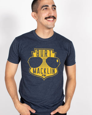 Burt Macklin FBI Unisex Tee - United State of Indiana: Indiana-Made T-Shirts and Gifts