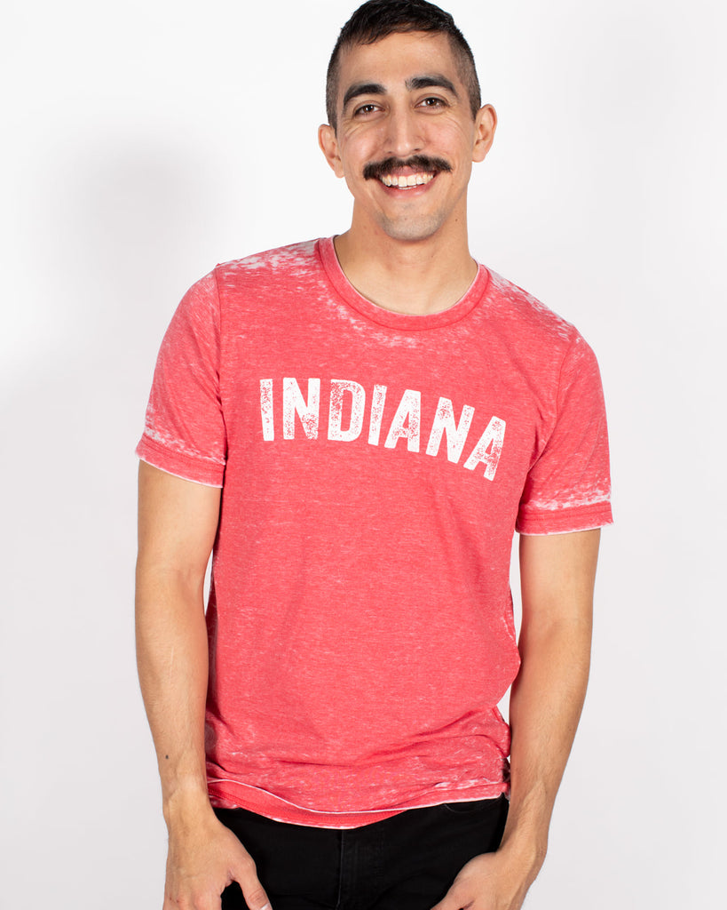 Vintage Indiana Acid Wash Tee ***CLEARANCE*** - United State of Indiana: Indiana-Made T-Shirts and Gifts