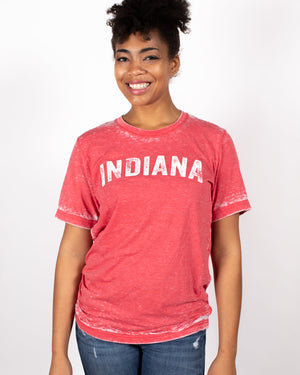 Vintage Indiana Acid Wash Tee - United State of Indiana: Indiana-Made T-Shirts and Gifts