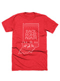 Back Home Again Christmas Sweater Tee