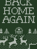 Back Home Again Christmas Sweater Crewneck Sweatshirt