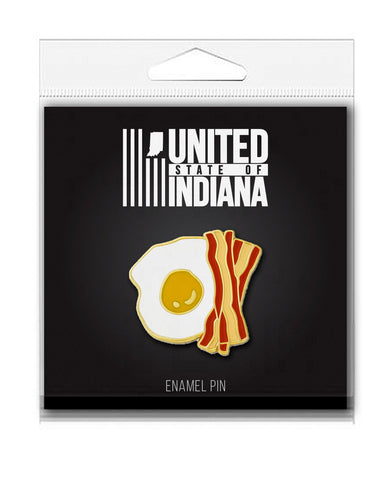 Bacon and Eggs Enamel Pin