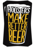 Hoosiers Make Better Beer Sticker - United State of Indiana: Indiana-Made T-Shirts and Gifts