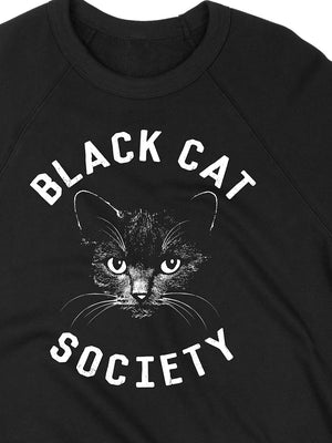 Black Cat Society Crewneck Sweatshirt