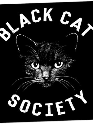 Black Cat Society Sticker
