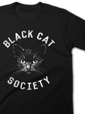 Black Cat Society Tee