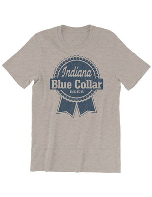 Blue Collar Beer Tee - United State of Indiana: Indiana-Made T-Shirts and Gifts