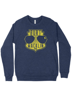 Burt Macklin FBI Crewneck Sweatshirt - United State of Indiana: Indiana-Made T-Shirts and Gifts