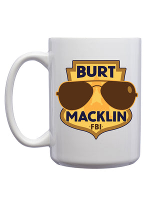 Burt Macklin Mug - United State of Indiana: Indiana-Made T-Shirts and Gifts
