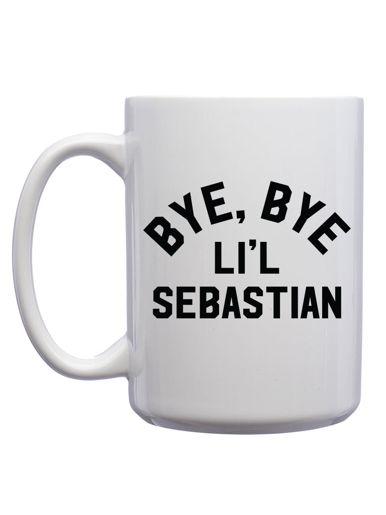 Bye Bye Li'l Sebastian Mug - United State of Indiana: Indiana-Made T-Shirts and Gifts