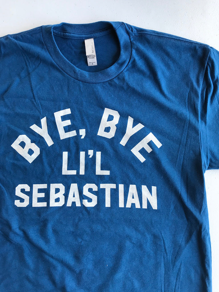 Bye Bye Li'l Sebastian Unisex Tee - United State of Indiana: Indiana-Made T-Shirts and Gifts