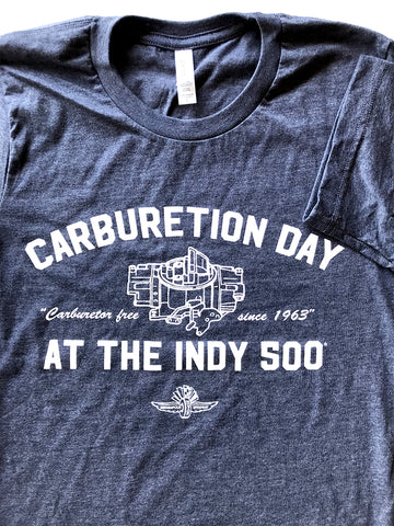 Carburetion Day Tee - United State of Indiana: Indiana-Made T-Shirts and Gifts