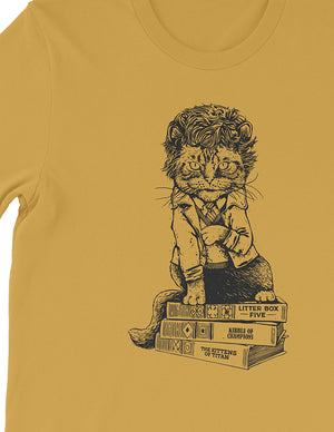Cat Vonnegut Unisex Tee - United State of Indiana: Indiana-Made T-Shirts and Gifts