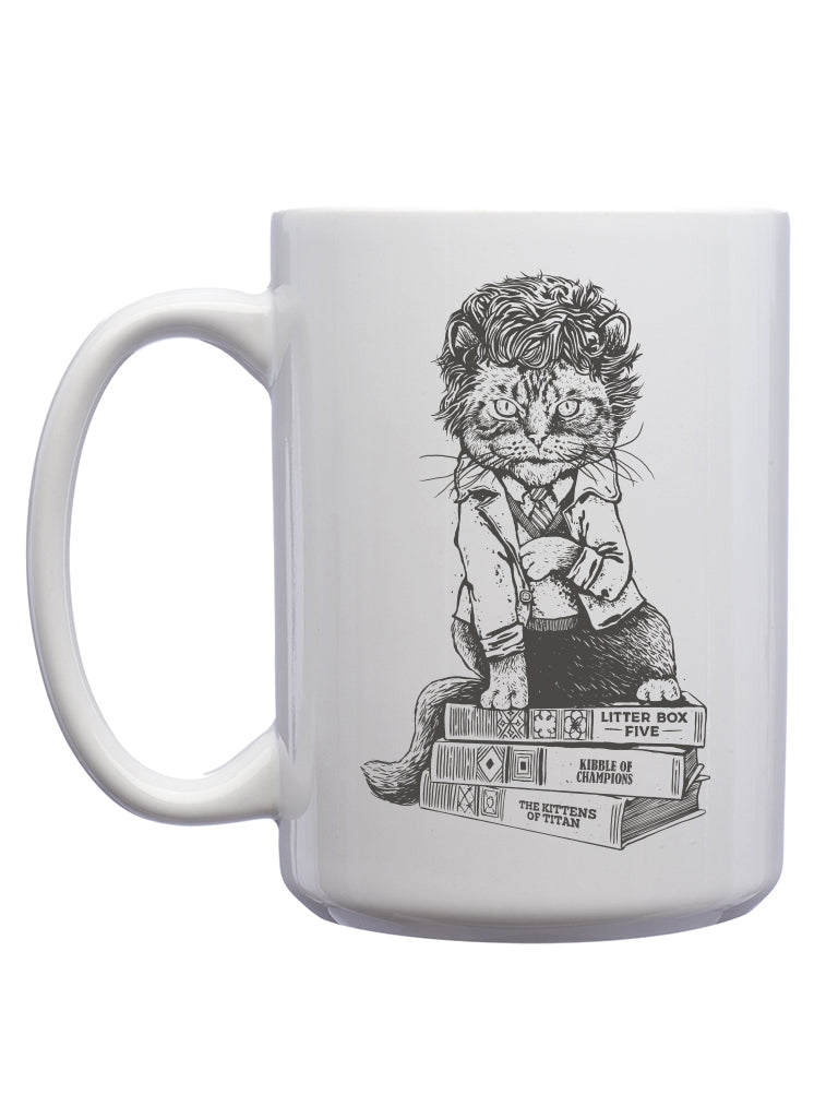 Cat Vonnegut Mug - United State of Indiana: Indiana-Made T-Shirts and Gifts