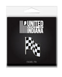 Checkered Flag Enamel Pin