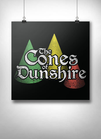 Cones of Dunshire Poster - United State of Indiana: Indiana-Made T-Shirts and Gifts