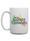 Cones of Dunshire Mug - United State of Indiana: Indiana-Made T-Shirts and Gifts